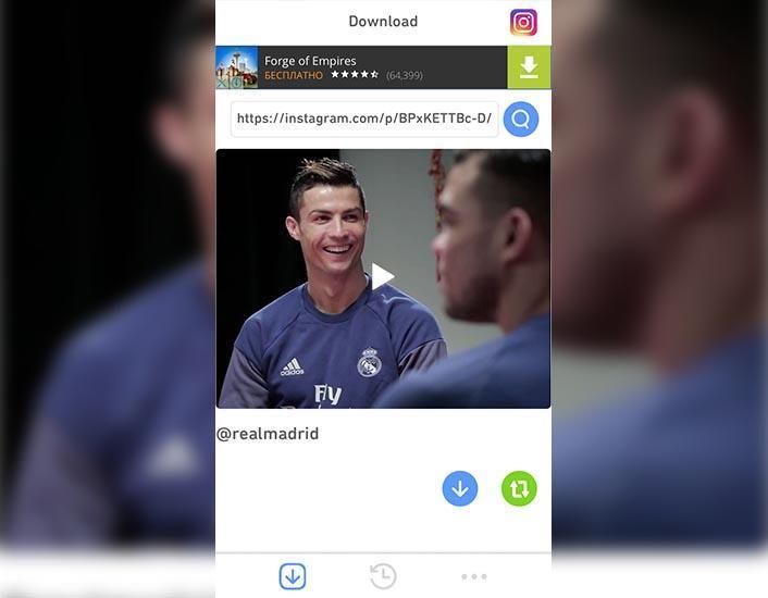 Как сохранить видео из Инстаграма на телефон iPhone: останется в памяти