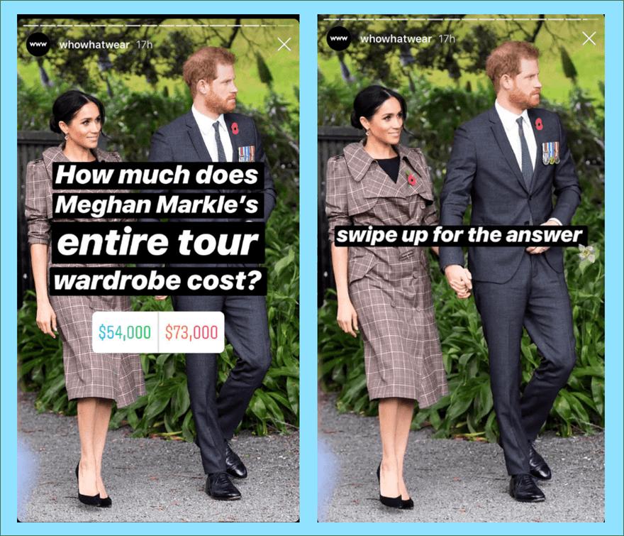 Опросы в Инстаграм: ваше мнение очень важно для нас